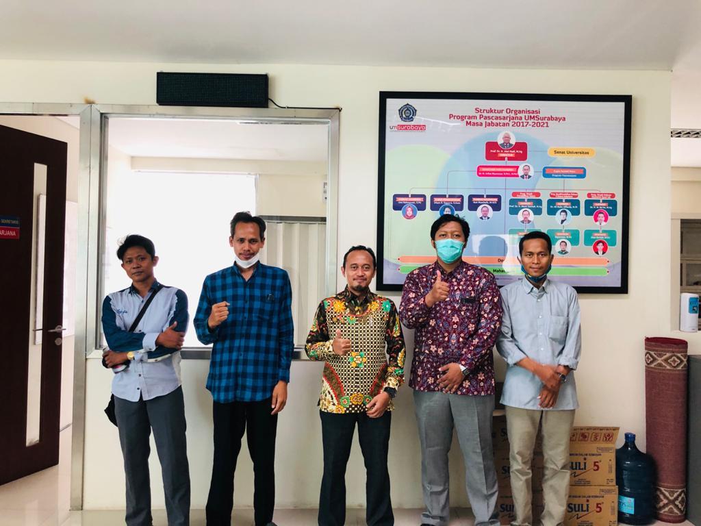 Tunjang Kegiatan Akreditasi Prodi, Alumni S2 PI Beri Sumbangan Satu Unit Laptop